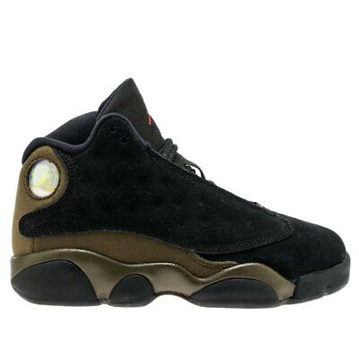 Nike Air Jordan Retro XIII 13 PS Olive BASKETBALL KIDS SHOES 414575 006 Size 3Y