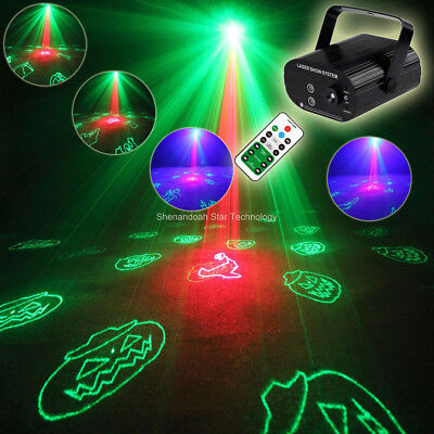 R&G Laser Halloween 24 Patterns Projector Led Bar DJ Dance Party Light Show - Halloween Light Show Party