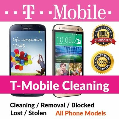 T-MOBILE USA IMEI Cleaning/Unbarring Service (ALL T-MOBILE DEVICES) *SALE OUT*