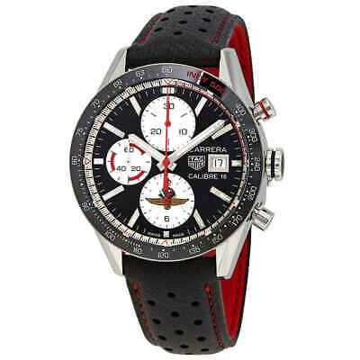 Tag Heuer Carrera Limited Edition Chronograph Automatic Black Dial Men's Watch