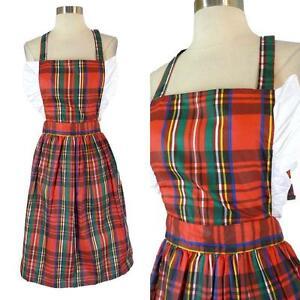 vintage christmas apron - Christmas Apron