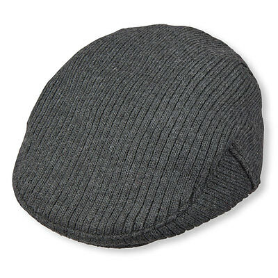 The Childrens Place Sweater Knit Newsboy Hat Cabbie Cap Gray 6 24M   24M 3T Nwt