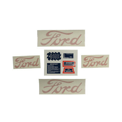 8n5052d Decal Set For 8n Ford Tractors 1948 To 1950 Models Without Proofmeter