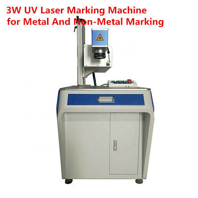 3w Uv Laser Marking Machine For Metal And Non-metal Marking