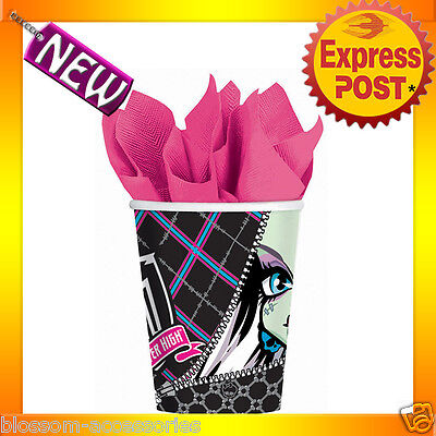 PD29 Monster High 265ml Birthday Party Pk 8 Paper Cups Halloween Party Supplies](Monster High Halloween Party Supplies)