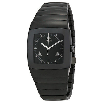 Rado Sintra Black Ceramic Quartz Mens Watch R13765152