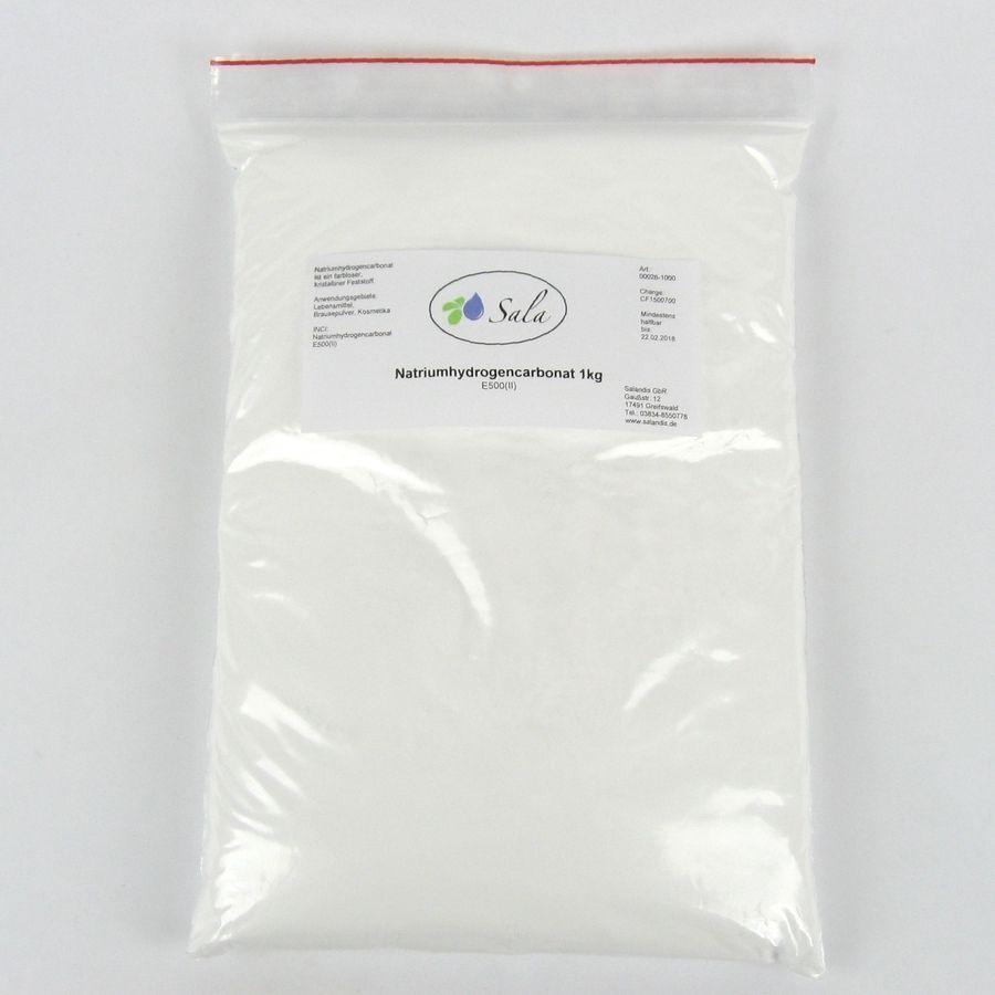 KS (5,89/kg) Sala Natriumhydrogencarbonat Natron E500ii Backpulver 1000 g 1 kg