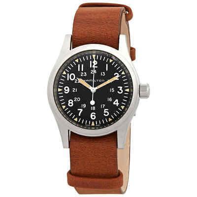 Hamilton Khaki Field Hand Wind Black Dial Men's Watch H69439531