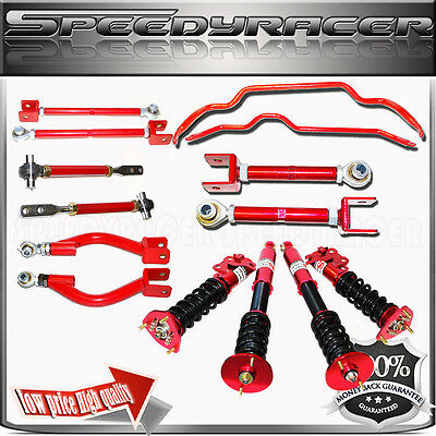 1995-98 240SX S14 Control Arm,Full Suspension Coilover,Sway Bar,Traction Rod,Toe