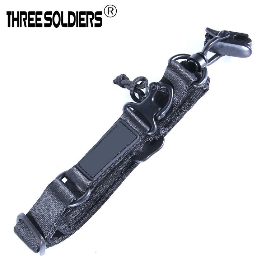 2 Point Rifle Sling Adjustable Length Gun Strap Shoulder Pad Hook for Outdoors Hunting