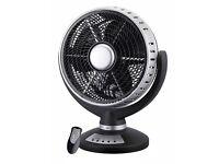 Desk Fan with Remote Control