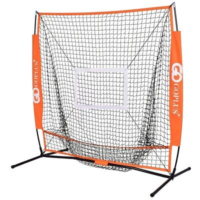 Practice Hitting Batting Baseball Net 5x5 Lightweight Durable Material Backyard