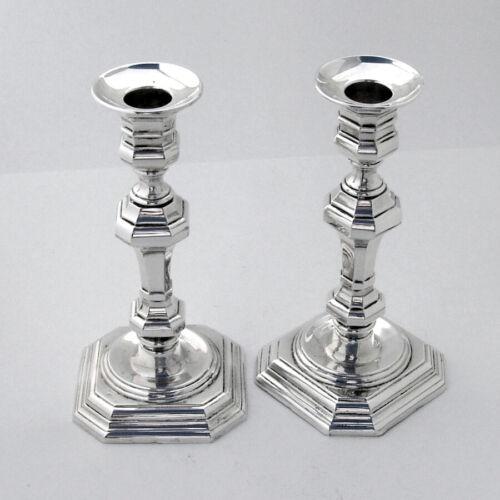 Spanish Candlesticks Pair 915 Silver