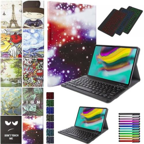 For Samsung Galaxy Tab A S5e 10.5 10.1 Folio Leather Stand C