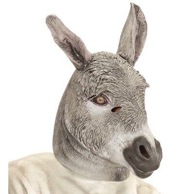 lmaske Bauernhof Muli Maulesel Kostüm Verkleidung Deko 96647 (Esel Maske)