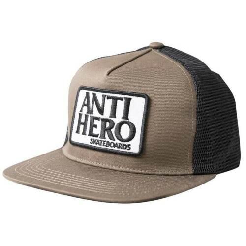 Antihero Reserve Logo Patch Snapback Trucker Hat Brn/Blk - FREE SHIPPING!
