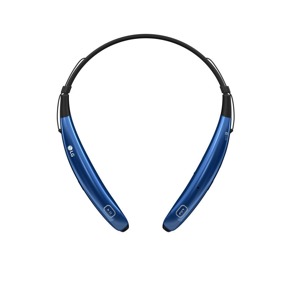 Jabra Sport Bluetooth Stereo Headset On Lg Wireless Speaker Hbs 770 Tone Pro In Ear Blue Ebay Stock Photo