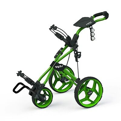Clicgear Rovic RV3J Junior Push Golf Cart Kid Golfer Golf Pull (Junior Golf Pull Cart)