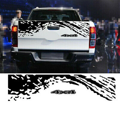 Vinyl Decal Pickup Trunk Decor Sticker Auto Body Tail Customized Decals