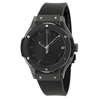 Hublot Classic Fusion Black Dial Black Ceramic Unisex Watch 581.CM.1110.RX