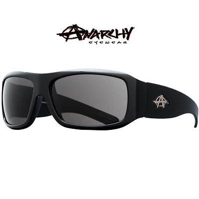 NEW Anarchy Eyewear Consultant Sunglasses Black/Smoke NWB RT $45 73€ Skate Surf