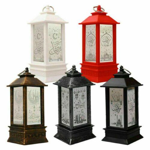 Ramadan Lantern Lamp Eid Mubarak LED Light Muslim Ornament P