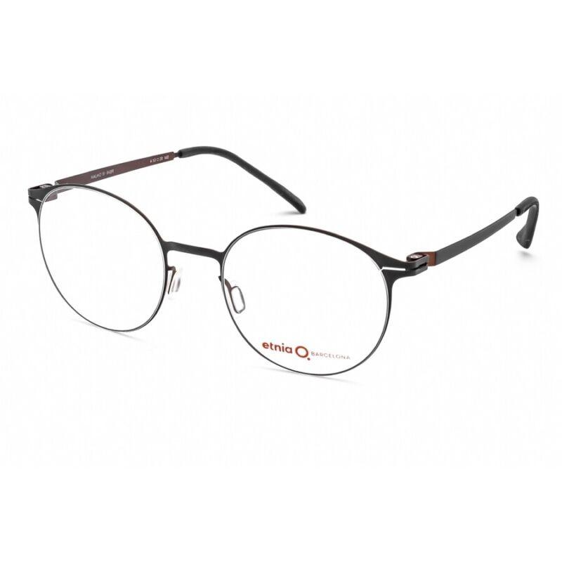 Etnia Barcelona Round Unisex Eyeglasses MALMO 18 BKBR 50 MALMO 18 BKBR 50