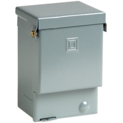Square D 60-amp Outdoor Non-fusible Metallic Enclosed Circuit Breaker Box New