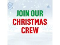 Bar / Waiting Temp Christmas Staff Required