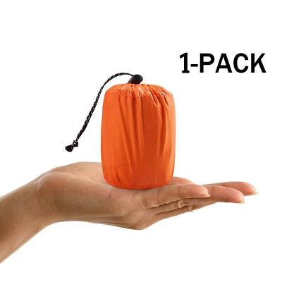 Emergency Sleeping Bag Thermal Waterproof For Outdoor Survival Camping Hiking US