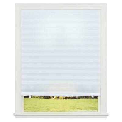 Redi Shade White Light Filtering Pleated Polyester Room UV Protection Durable  Redi Shade Room