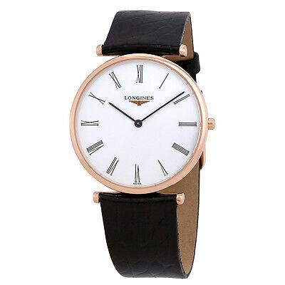 Longines La Grande Classique White Dial Ladies Leather Watch L47551912