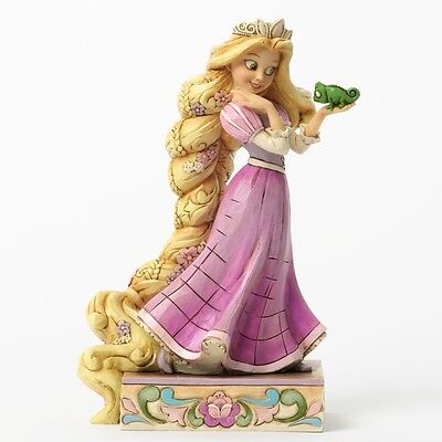 Jim Shore Loyalty and Love Rapunzel and Pascal Figurine 4037514 Disney Tradition