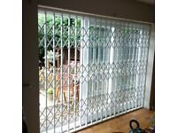 WINDOW & DOOR SECURITY GRILLES MADE IN LONDON + FITTING - BARS, GRILLES, GATES, ROLLER-SHUTTERS