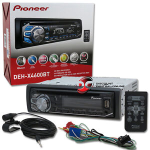 2014 Pioneer 1DIN Car Stereo Cd Player