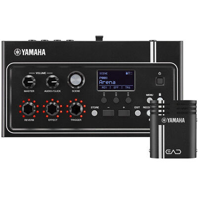 Yamaha EAD10 Acoustic Drum Module with Mic and Trigger Pickup, New!