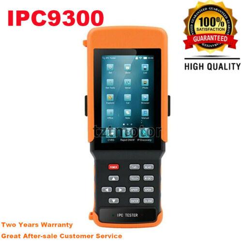 IPC9300 IP Camera / CCTV / IPC Tester Monitor IP + Analog + Ethernet Cable TDR