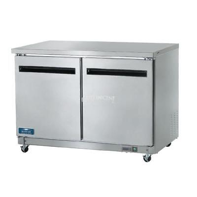 Arctic Air AUC48R Commercial Undercounter Refrigerator Doubl