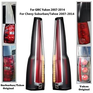 Escalade Tail Light Oem Ebay. Led Tail Lights For 20072014 GMC Yukon Chevrolet Tahoe Suburban Escalade Style. Wiring. 2002 Escalade Tail Light Wiring Diagram At Scoala.co