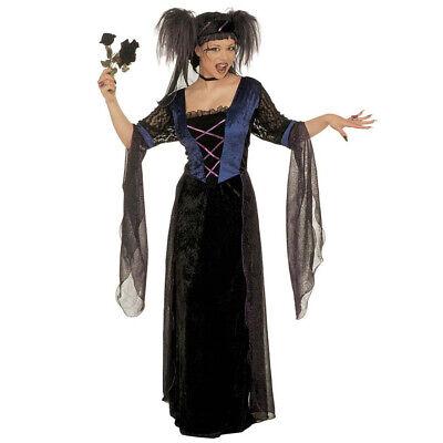 DAMEN GOTHIC PRINZESSIN KOSTÜM # Halloween Karneval Gotik - Prinzessin Hexe Kostüme