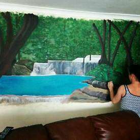 Liverpool artist specialising in hand painted murals of all designs and themes