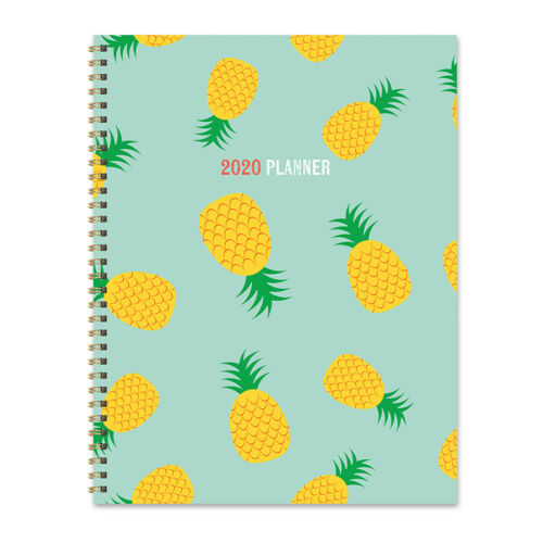 2020 Pineapple Party Large Weekly Monthly Planner