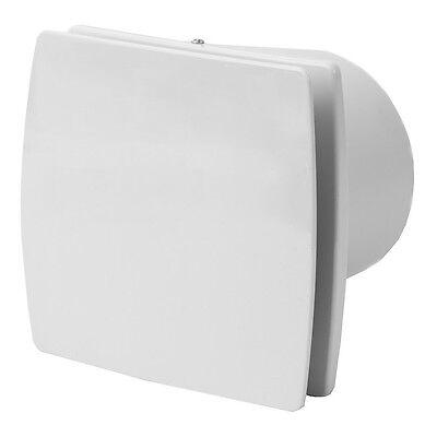 Badlüfter Wandlüfter Ventilator mit Nachlauf und Feuchtigkeit Sensor Ø100mm
