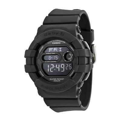 Casio Baby G Digital Dial Black Resin Ladies Watch BGD140-1ACR