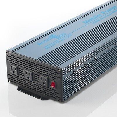 MOBILE POWER INVERTER 5000/10000 W WATT 12V DC TO 115/120V AC!! OPEN BOX ITEM!!