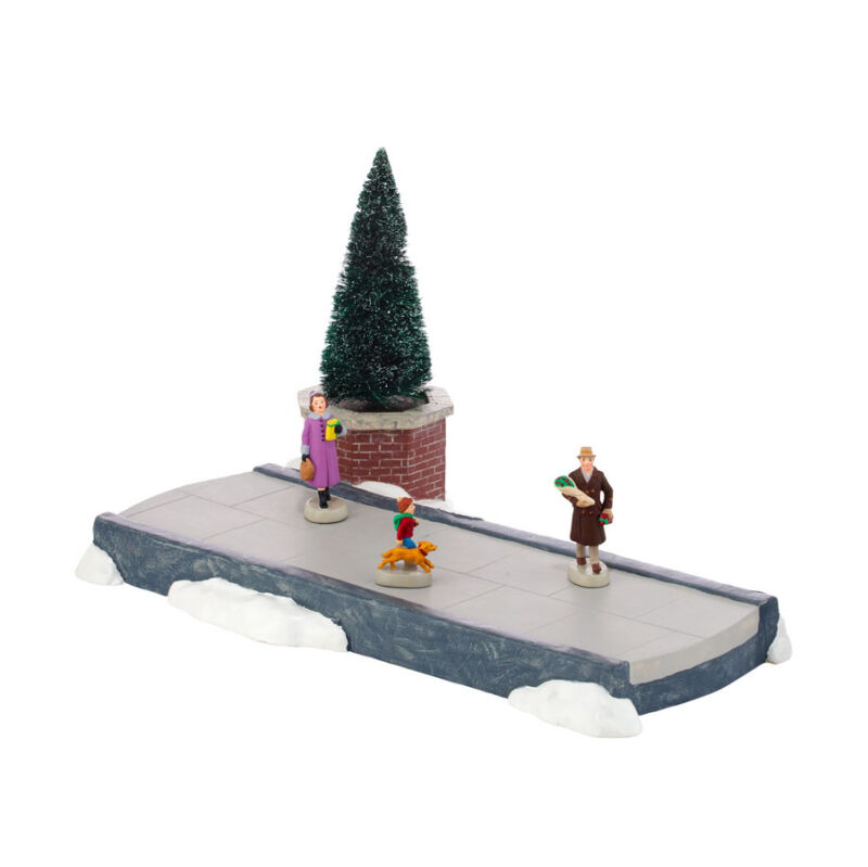 Dept 56 MEETING SMILE AFTER SMILE 4025357  NEW D56 Christmas Village Animated