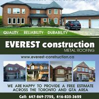 Everest Metal Roofing Mississauga, Toronto and GTA