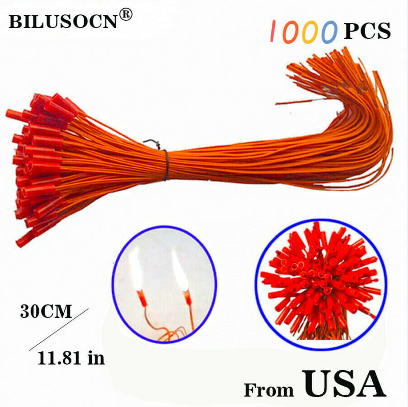 1000pcs/lot 11.81in Connecting Wire For Fireworks Firing System Igniter From USA