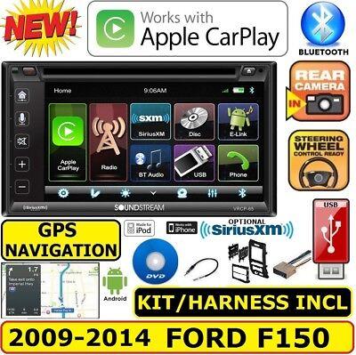 09-14 FORD F150 TOUCHSCREEN GPS NAV BLUETOOTH USB CD/DVD CAR RADIO STEREO PKG for sale  Bradenton