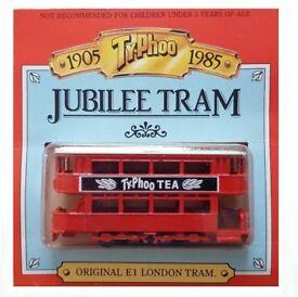 TYPHOO JUBILEE TRAM BY MATCHBOX